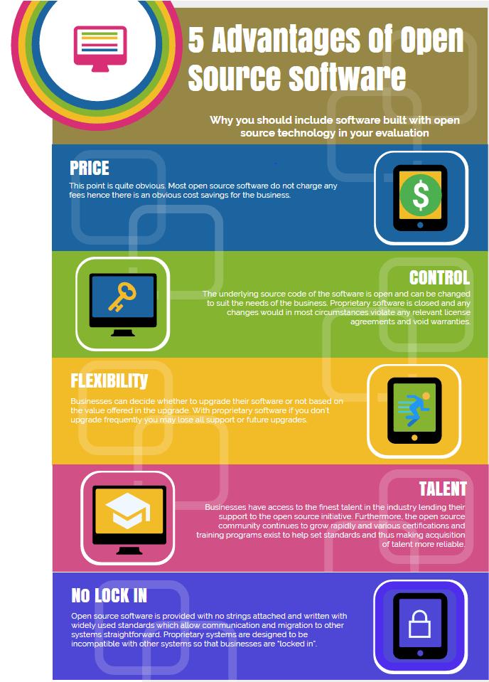 5 Advantages of Open Source Software